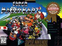 Super Mario Kart Boxart