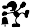 Mr. Game & Watch(Clear)