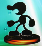 Mr. Game & Watch smash trophy (SSBM)