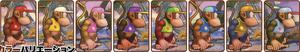 SSB4-Diddy Kong Palette 001