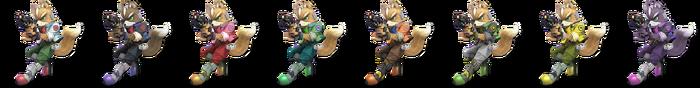Fox Palette (SSBU)