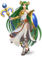 Palutena old artwork