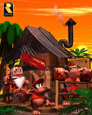 Cranky's Cabin Render (Donkey Kong Country)
