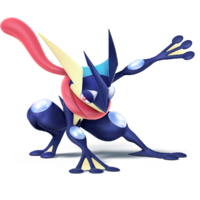 Greninja - Super Smash Bros. for Nintendo 3DS and Wii U