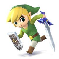 Toon Link - Super Smash Bros. for Nintendo 3DS and Wii U