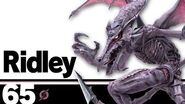 65 Ridley – Super Smash Bros