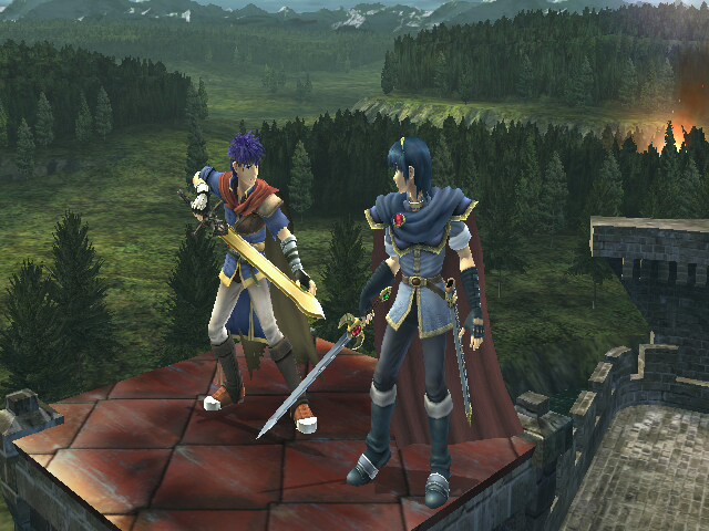image ike and marth smashpedia fandom powered by wikia. Black Bedroom Furniture Sets. Home Design Ideas