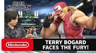 "Super Smash Bros. Ultimate – Mr. Sakurai Presents ""Terry Bogard"""