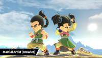 3-martial artist