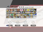 Character Selection - Super Smash Bros. Brawl