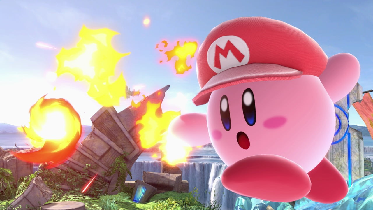 Kirby (Super Smash Bros  Ultimate) | Smashpedia | FANDOM