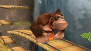 Donkey Kong Idle Pose 2 Brawl