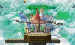 SSB3DS Peach's Castle (64)