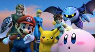 .028 Kirby Pikachu Mario Link Samus Pit Meta Knight & Zachary 28 24