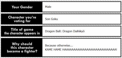 Goku Ballot