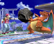 Charizard Rock Smash