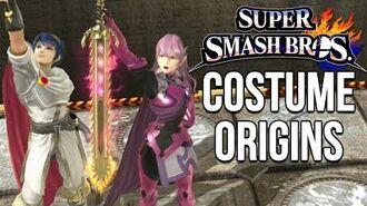 Super Smash Bros. Costume Origins - Fire Emblem Series