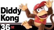 36 Diddy Kong – Super Smash Bros