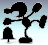 Mr. Game & Watch SSBB