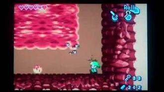 The Legend of Zelda the Minish Cap Gleerok Boss Battle ( No Damage )