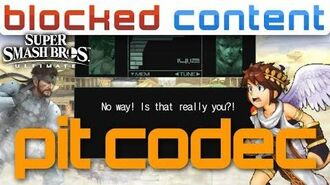 PIT vs Snake CODEC CALL Conversation (Super Smash Bros. Ultimate)