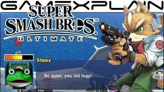 Super Smash Bros Ultimate All Secret Star Fox Conversations on Corneria (Easter Egg)