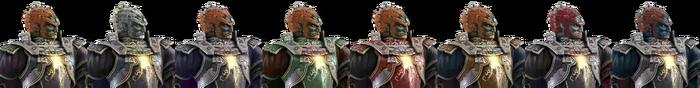 Ganondorf Palette (SSB4)