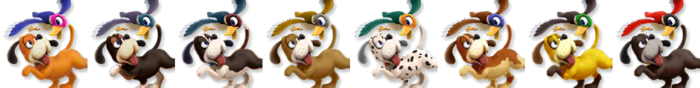 Duck Hunt Palette (SSB4)