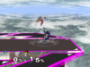 Marth Up throw SSBM