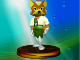 List of SSBM trophies (Star Fox series)