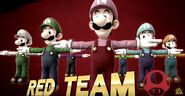 Luigi T-Pose