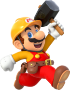 Builder Mario Run