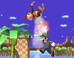 Luigi jump punch