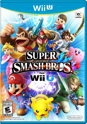 Super Smash Bros for Wii U Box Art