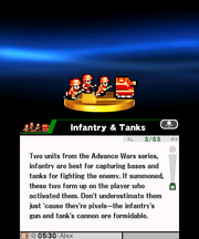 Infantry and tanks