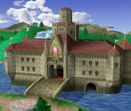Mushroom Kingdom Princess Peach S Castle Smashpedia Fandom