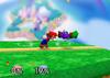 Mario Up smash SSB
