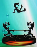 Mr. Game & Watch trophy (SSBM)
