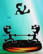 Mr. Game & Watch trophy (SSBM)