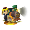 SSB3DS Engineer Link Trophy
