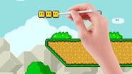 Mario maker hand