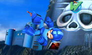 Mega Man Tumbling Sm4sh 3DS