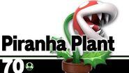 70- Piranha Plant – Super Smash Bros