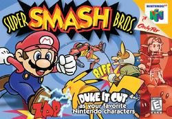Super Smash Bros. - North American Boxart