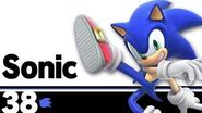 38 Sonic – Super Smash Bros