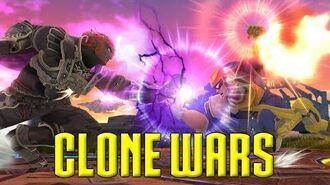 Clone Wars Captain Falcon VS. Ganondorf (The Differences)