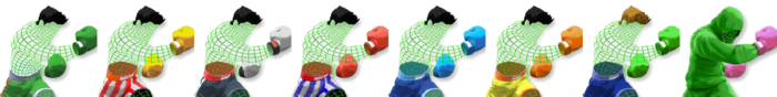 Little Mac (Wireframe) Palette (SSB4)