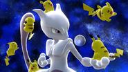 SSB4-Wii U Congratulations Mewtwo Classic