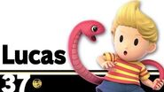 37 Lucas – Super Smash Bros
