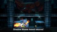 SSBU Shadow Moses Island